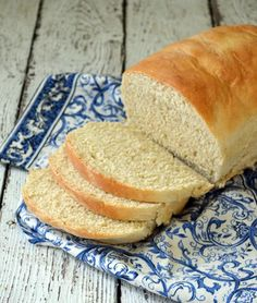 This homemade bread recipes is sure to make you never buy bread at the store again. Plus it's soy, dairy, egg, and nut free!