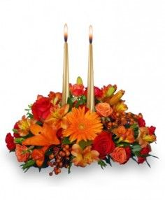 Thanksgiving Unity Centerpiece in Marshfield, MO | MARSHFIELD BLOOMS
