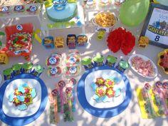 mesa dulce gormiti. gormiti candy bar