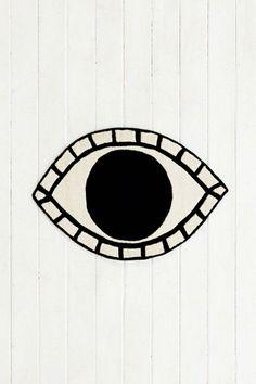 Magical Thinking Eye Rug #urbanoutfitters