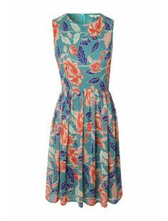 Womens Printed Tea Dress £16