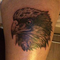 Self Tattoo Eagle. Artist: MJCR
