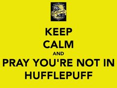 Ha! No wait I'm in Hufflepuff... :( THAT IS VERY OFFINSIVE TO US!!!!!!!