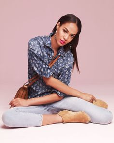 Joan Smalls - Neiman Marcus Spring 2014 #fashion