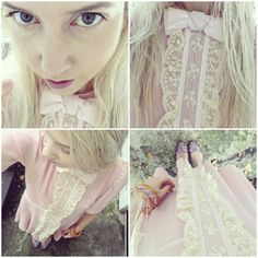 an alice saga outfit! cuteness dress by to be adored #tobeadored #burberry #screamingmimis
