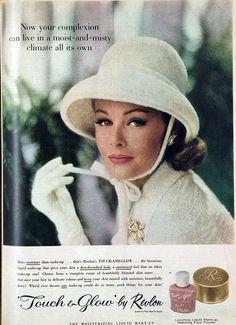 Revlon makeup, 1963 The Australian Women's Weekly