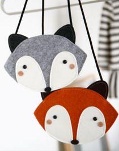 Fox bag grey/brown