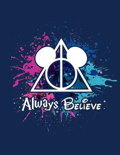 My two favorite fandoms combined. Disney Pin Up, Disney And More, Disney Dream, Disney Love, Disney Stuff, Harry Potter Disney, Harry Potter Fan Art, Harry Potter Memes, Harry Potter Crossover
