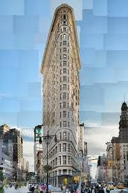 flatiron building - reconstructed photography by pep ventosa