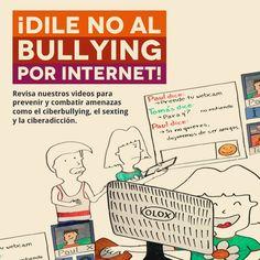 Revisa nuestros videos para prevenir y combatir amenazas como el ciberbullying, el sexting y la ciberadicción. https://www.youtube.com/playlist?list=PL0f0nPlcT_l43eixWDaBgbLYMOqTHxLYi