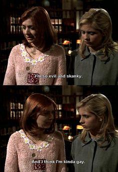 Hahaha Buffy!