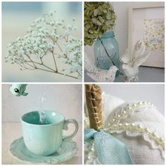 Duck Egg Blue,like the color name Duck Egg Blue Decor, Duck Egg Blue Bedroom, Duck Egg Blue Wedding, My Favorite Color, My Favorite Things, Easter Table Decorations, Robins Egg, Blue Rooms, Something Blue