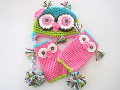 Hoot Hoot Birthday Owl with Leg Warmer Set Newborn to 18 months $30