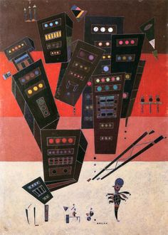 The Athenaeum - Shadows (Wassily Kandinsky - )