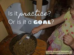 Is it practice, or is it a goal?