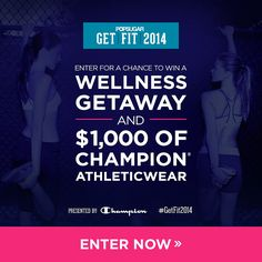 Win a Fitness Spa Vacation and More in Our Get Fit 2014 Giveaway: No matter what your goals are for 2014, we are here to help!