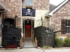 photo img_20101007_183800jpg halloween pinterest pirate ships and halloween ideas - Pirate Halloween Decorations