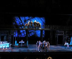 West Side Story. The MUNY. Scenic design by Robert Mark Morgan. 2013
