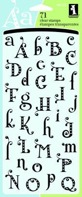 Polka dot, pretty font alphabet
