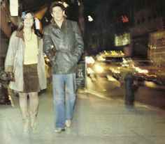 Lou Reed with Sylvia