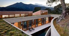 hillside residence by turnball griffin haesloop architects (kentfield, ca)
