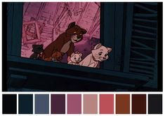 The Aristocats (1970) dir. Wolfgang Reitherman