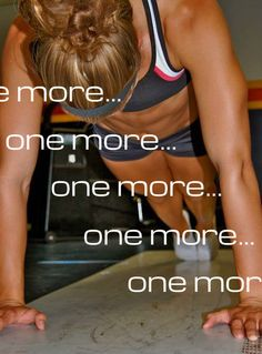 one more…one more…one more… - #fitness...