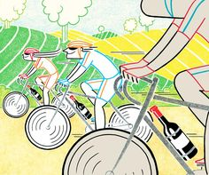 Should You Sip and Cycle? The Pros and Cons of Biking Through Napa Valley - WSJ
