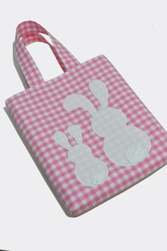 Handtaschen - Ostertäschchen ★Hallo Osterhase★ - ein Designerstück von lepetitmimi bei DaWanda Happy Easter !... mommy- and mini easter bunny handbag