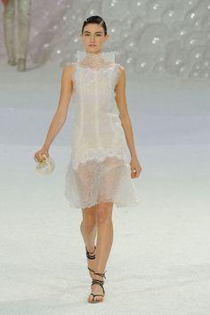 Chanel at Paris Spring 2012