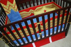 Wonder Woman Nursery