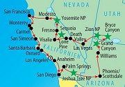 Kalifornien Rundreisen San Francisco, Los Angeles Busrundreise Westen USA Mietwagenrundreise Westküste - Zauber des Westens