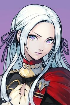 anime style general / fighter / noble female character, white hair and lilac eyes elf DnD / Pathfinder character art inspiration Character Inspiration, Character Art, Character Design, Creepypasta Anime, Anime Manga, Anime Art, Pathfinder Character, Johnny Valentine, Fire Emblem Characters