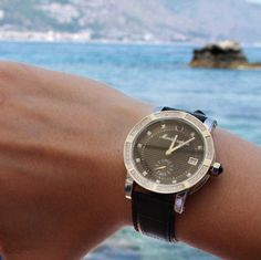 Montegrappa watch by the sea at Taormina Sicily. #TaorminaFilmFest #MontegrappaTaormina #TaoFF61