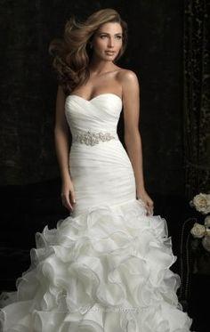 Organza Dress by Allure Bridals 8966