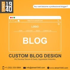 Just write and share your amazing content with your readers. For the design & technical part, you can rely on us. We ensure you will get a unique and relevant design that suits your idea of blogging. Web Design Services, Focus On Yourself, Blogging, How To Become, Passion, Content, Writing, Suits, Amazing
