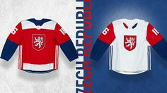 Team Czech Republic 2016 World Cup of Hockey jersey