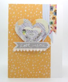 Spotted and admired: One super fantastic card by Annette Allen! Hey, Annette, love how you used Technique Tuesday's Ali Arrows stamp set here to make your Love You arrow. Sure dig your card!