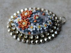 Hey, I found this really awesome Etsy listing at https://www.etsy.com/listing/228508512/elegant-floral-applique-polymer-clay
