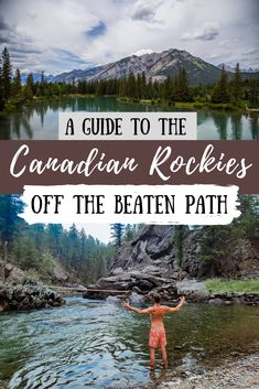 Whether you're traveling to Canada for the first time this summer, or have been to the Canadian Rockies many times before, check out these hidden gems by traveling off the beaten path. Canadian Travel, Canadian Rockies, Banff National Park, National Parks, Jasper National Park, Cool Places To Visit, Places To Travel, Backpacking Canada, Visit Canada