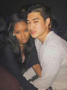 Gorgeous couple #interraciallove #Blasianlove