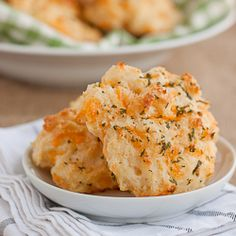 Red Lobster's cheddar bay biscuits made from scratch. Easy and addictive!