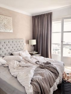 Uploaded by 𝔚𝔦𝔩𝔪𝔞. Find images and videos about home, bedroom and interior on We Heart It - the app to get lost in what you love. Room Ideas Bedroom, Cozy Bedroom, Dream Bedroom, Modern Bedroom, Bedroom Decor, Home Interior, Interior Design, Interior Livingroom, Luxurious Bedrooms