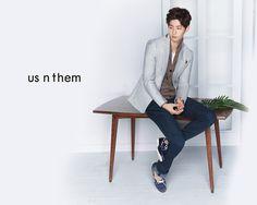 Song Jae Rim for US N THEM Spring 2015