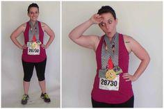 Marathon Runner!! Easy Costume, sweet on the wallet! @ yourtango.com