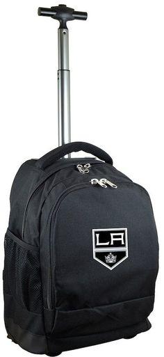 NHL Los Angeles Kings Premium Wheeled Backpack