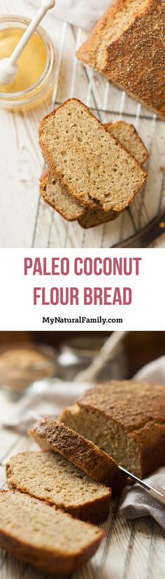 This Paleo bread looks and tastes so similar to a honey wheat bread, thanks to the honey and flax meal. The flax meal gives the bread a somewhat chewy texture while the arrowroot starch helps hold it together.