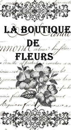 creativa French Images, Images Vintage, Welcome To Paris, Quote Collage, Flower Boutique, Collage Vintage, Photo Transfer, Emblem, Vintage Lettering