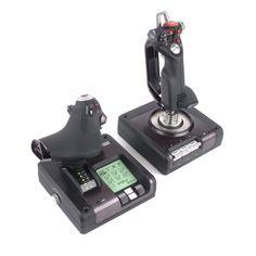 Saitek X52 Pro Flight System Controller Joysticks Review 2015