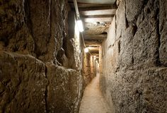Ir David - City of David.  Jerusalem.  Plan to see newest excavations, including the recently opened 400 meter tunnel from Ir David up to the Kotel.  Summer months allow for passage through Hezekiah's Tunnel.